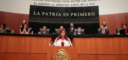Candidata a la alcaldía de Álvaro Obregón la más recordada por su trabajo en la Cámara Alta