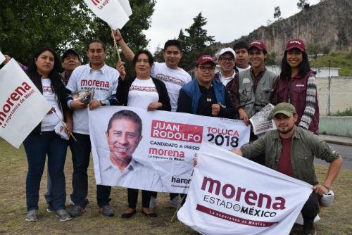 Juan Rodolfo el candidato que ha logrado llamar la atención de los jóvenes