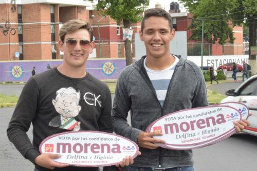 Los jóvenes se unen al proyecto de Juan Rodolfo