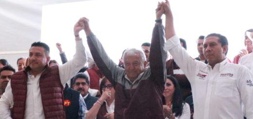 Más de 26 mil personas demuestran su apoyo a AMLO y a Juan Rodolfo